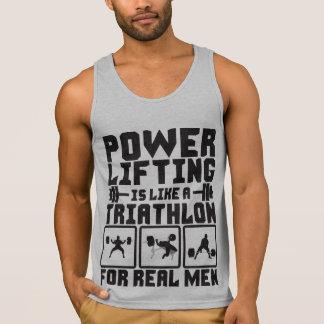 Powerlifting es como un Triathlon para los hombres
