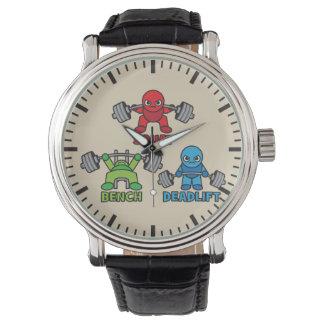 Powerlifting Kawaii - Squat, Bench Press, Deadlift Wrist Watch