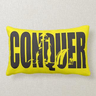 Powerlifting Motivation - CONQUER Pillow