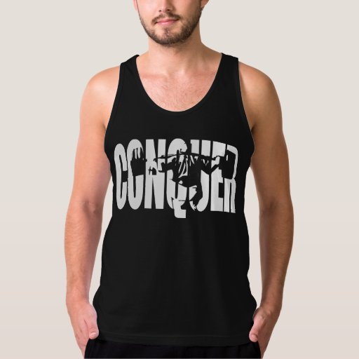 Powerlifting Motivation - CONQUER Tank Top