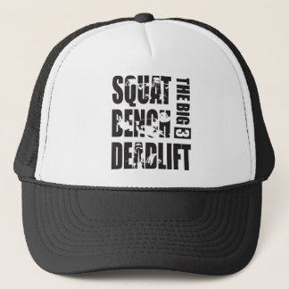 Powerlifting - Squat, Bench, Deadlift Trucker Hat