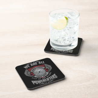 Powerlifting - STEP UP - Barbell Plate - Gym Coaster