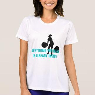 Powerlifting - todo que usted necesita está ya camisetas