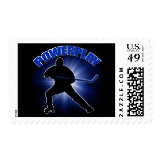 Powerplay Postage Stamp