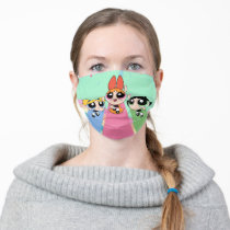 Powerpuff Girls Fly High Adult Cloth Face Mask