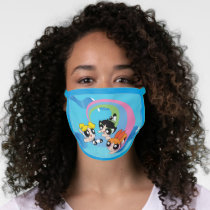 Powerpuff Girls Fly Through The Sky Face Mask