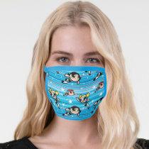 Powerpuff Girls Star Pattern Face Mask