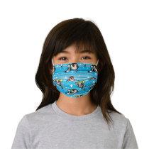 Powerpuff Girls Star Pattern Kids' Cloth Face Mask