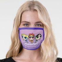 Powerpuff Girls Team Logo Face Mask