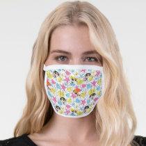 Powerpuff Girls Townsville Pattern Face Mask