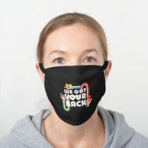 Powerpuff Girls: We Got Your Back Black Cotton Face Mask