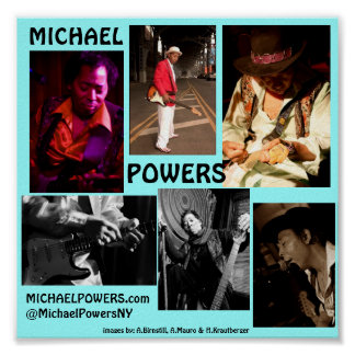 POWERS COLLAGE POSTER