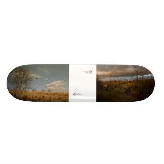 Powers in the Country, ZiPPiX 3, Pale Sky, ZiPP... Custom Skateboard