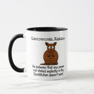 Powers not delegated by the Constitution Mug