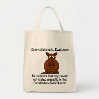 Powers not delegated by the Constitution Tote Bag