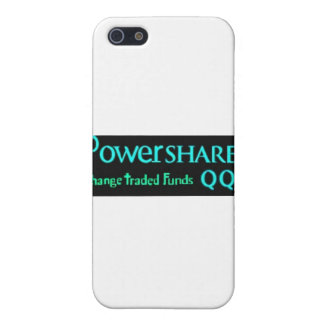 Powershares trading in the Stock Market iPhone SE/5/5s Cover