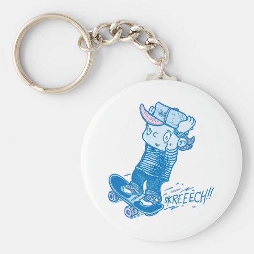 Powerslide! Keychain