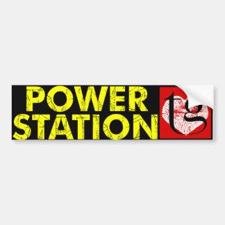 Powerstation / T Gephart bumper sticker