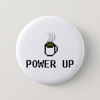 powerup pinback button