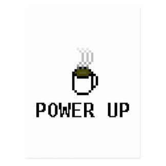 powerup tarjeta postal