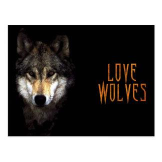 powerwolf postcard