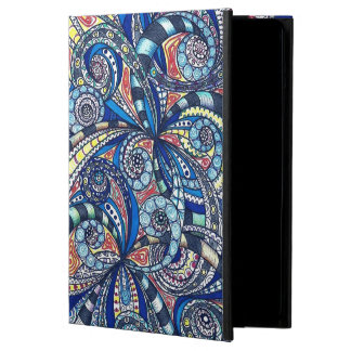 Powis iCase iPad Air Case Drawing Floral Zentangle
