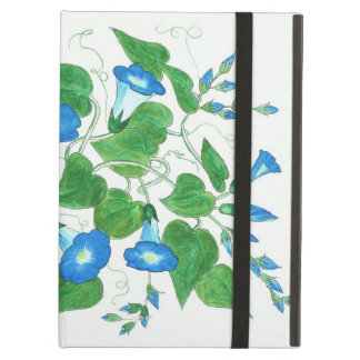 Powis iCase iPad Case, Morning Glory Flowers iPad Air Cover