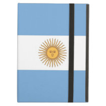 Powis Ipad Case with flag of Argentina