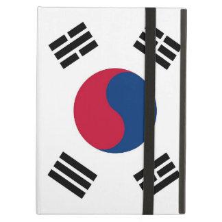 Powis Ipad Case with flag of South Korea