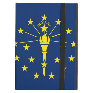 Powis Ipad Case with Indiana State Flag, USA