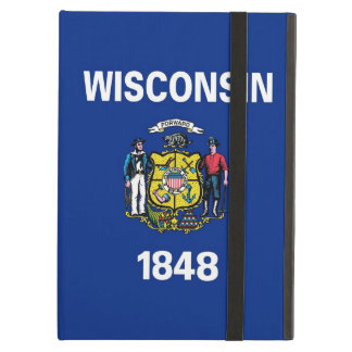Powis Ipad Case with Wisconsin Flag, USA