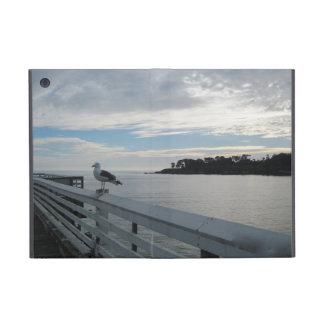 Powis iPad Mini Case: Gull on Pier at San Simeon iPad Mini Covers