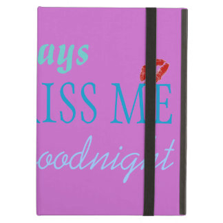 Powls icase Ipad 'Always Kiss me Goodnight' Cover For iPad Air