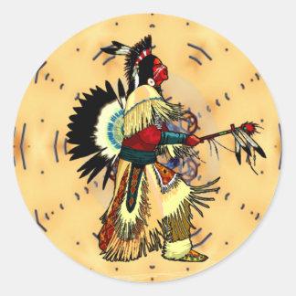 PowWow NAHM Sticker