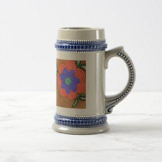 PoWWoW Ojibwa Beadwork Design Mug