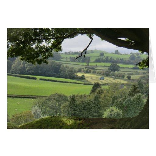 Powys en el equinoccio del otoño felicitación