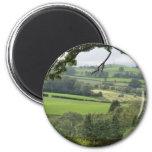 Powys en el equinoccio del otoño imanes
