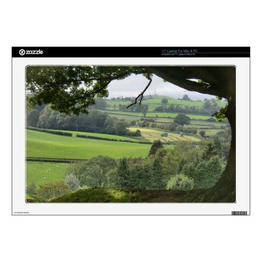 Powys en el equinoccio del otoño portátil calcomanías
