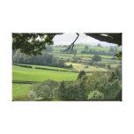 Powys en el equinoccio del otoño impresión de lienzo