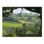 Powys en el equinoccio del otoño tarjeta postal