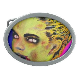 'Pox Athena' Belt Buckle