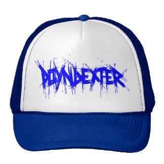 Poyndexter azul gorras