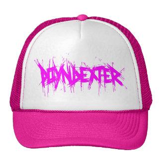 Poyndexter rosado gorras de camionero