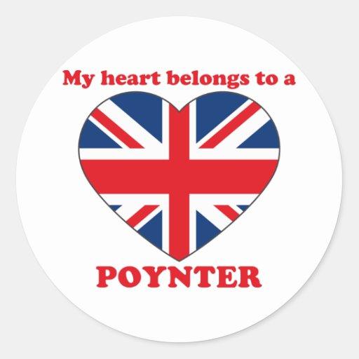 Poynter Round Stickers