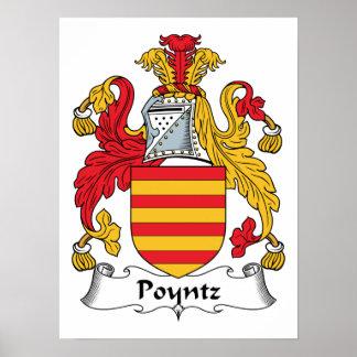 Poyntz Family Crest Print