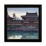 Pozioma del templatka de Shin Hanga Caja De Recuerdo