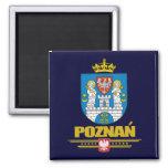 Poznan 2 Inch Square Magnet