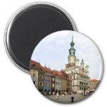 Poznań, Poland 2 Inch Round Magnet