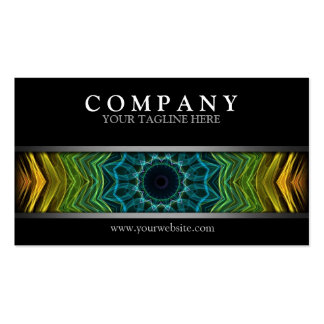 Pozo colorido moderno plantilla de tarjeta personal