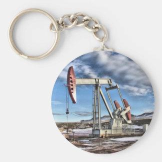 Pozo de petróleo llavero